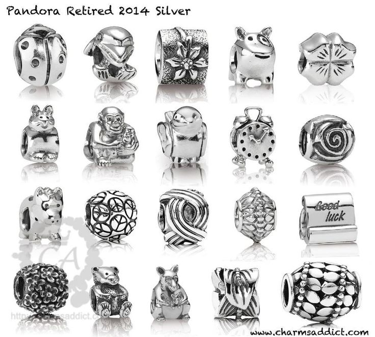 22 best Rare, Retired and Limited Edition Pandora Charms