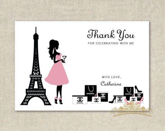 Thank You Card - Thank you Card - DIY Printable - Digital | Thank You ...