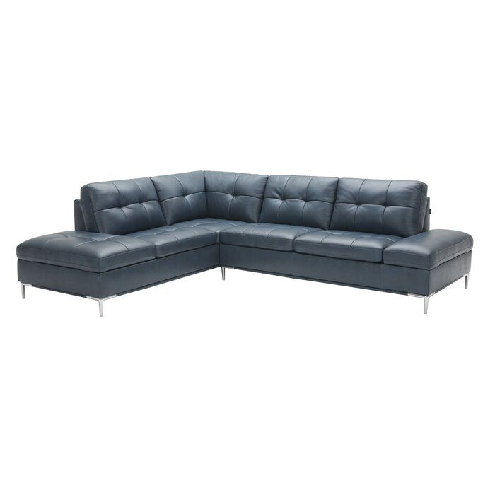 Mercier Leather Sectional Sectional Sofa Leather Sectional Furniture