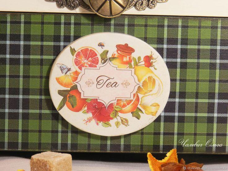 Купить Шкатулка Цитрусовый чай в интернет магазине на Ярмарке Мастеров