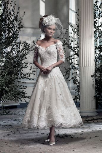 8 best Ian Stuart images on Pinterest   Wedding frocks, Short ...