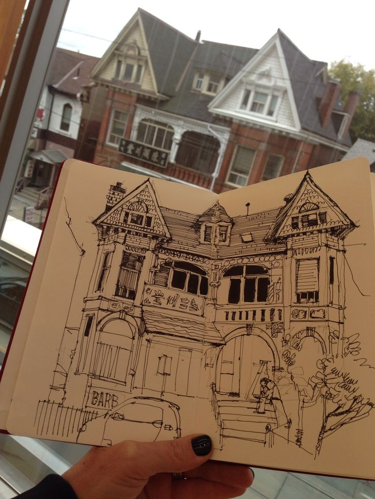 Shari Blaukopf. Successful simple line drawing. Like rough, sketchy lines as has an old vibe which fits with my city.