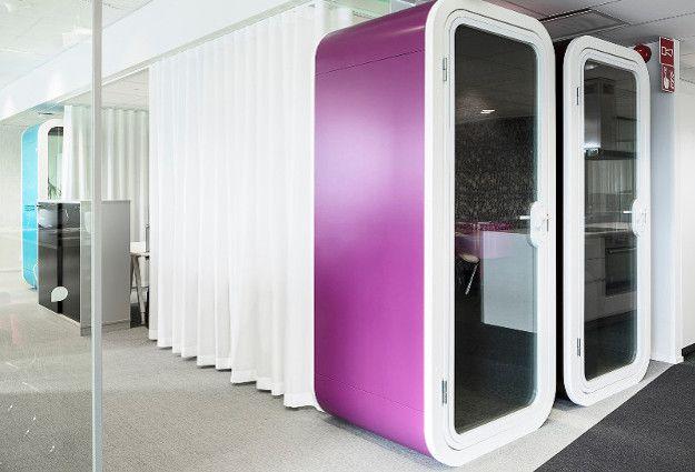 cabine acoustique connect e framery o phone box pinterest acoustique cabine et id e. Black Bedroom Furniture Sets. Home Design Ideas