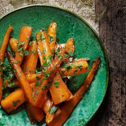 Caramelised Carrots: Recipe