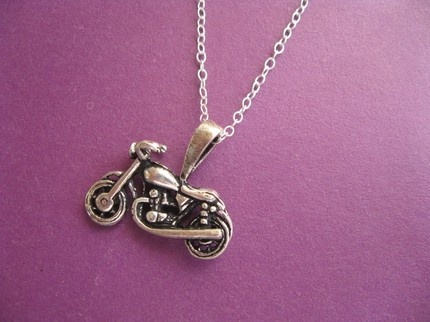 Harley Davidson Motorcycle Pendant. This is the first thing Henrietta taught me how to Pin on Pinterest.