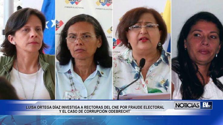 ORTEGA DÍAZ INVESTIGA A RECTORAS DEL CNE POR FRAUDE ELECTORAL Y CASO ODE...