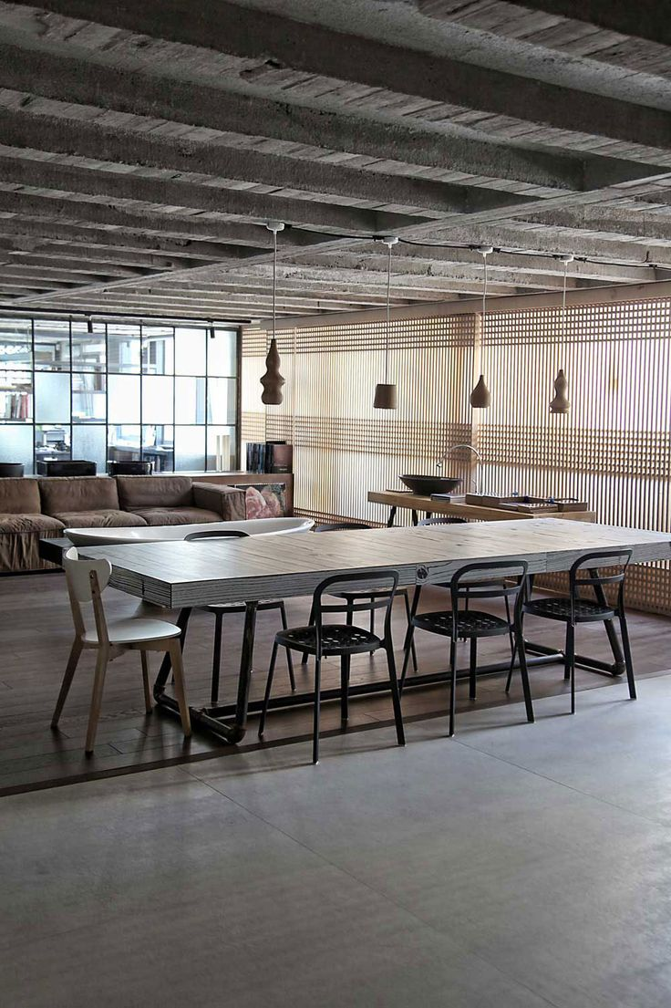 78 best Lofts images on Pinterest | Architecture, Dining room and ...