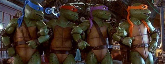 Ninja Kaplumbağalar Set Fotoğrafları – Galeri