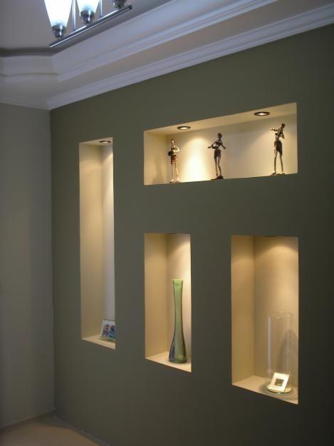 Los nichos decorativos son una tendencia fuerte en estos días. Son elegantes, prácticos, sencillos y personificables a gustos, espacios y di...