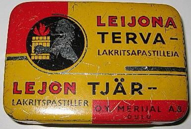 Tar candy. I really remember this from the 80s! Like it was yesterday... | peltinen tervaleijonarasia