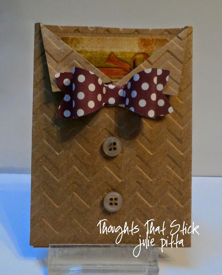 Thoughts That Stick..... : Bow Tie Gift Card