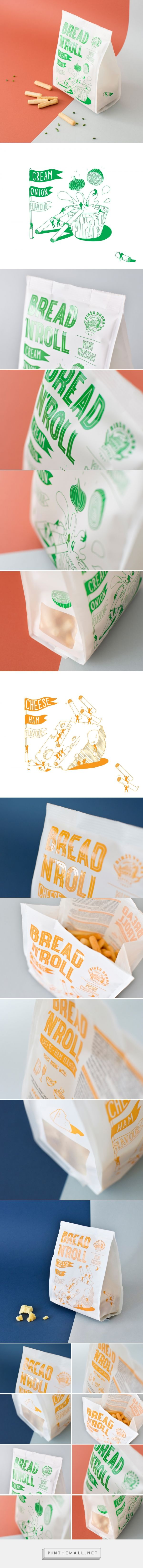 Bread'n'Roll - Packaging of the World - Creative Package Design Gallery - http://www.packagingoftheworld.com/2016/11/breadnroll.html