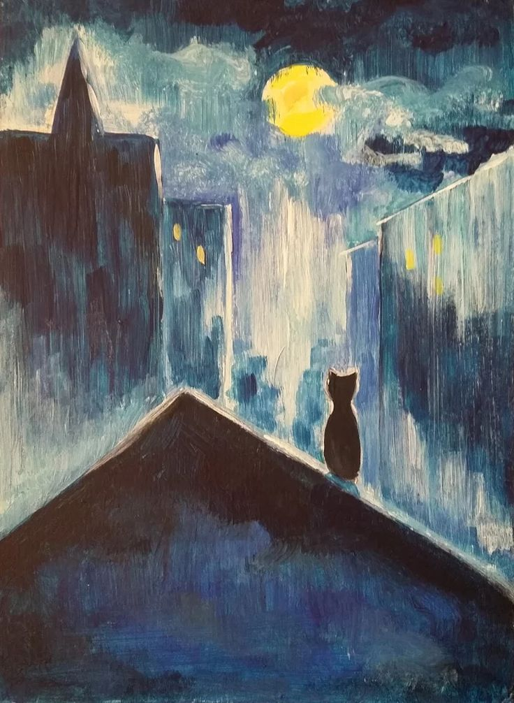 Macska a tetőn