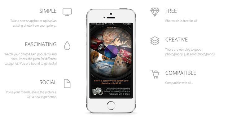 Photortrain is...#phototrain #app #Apple #iOS