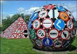 The Magic Roundabout in Splott, Cardiff