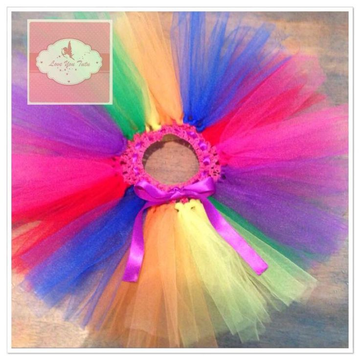 rainbow short tutu short tutu's from $15 Handmade with love www.loveyoututu.com.au #loveyoututu
