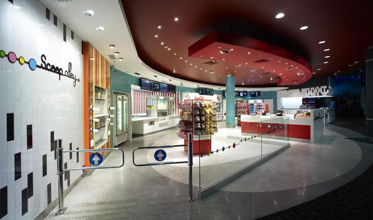 burwood event cinema lobby fitouts by the quinlan group