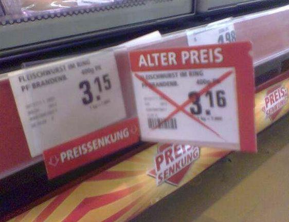 29 Male, als Supermarkt-Angebote echt zu weit gegangen sind