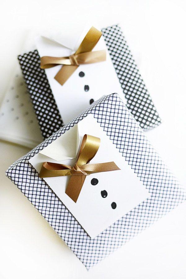 Paquet cadeau fête des pères
