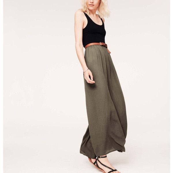 LOFT Petite Lou & Grey Crinkle Maxi Dress