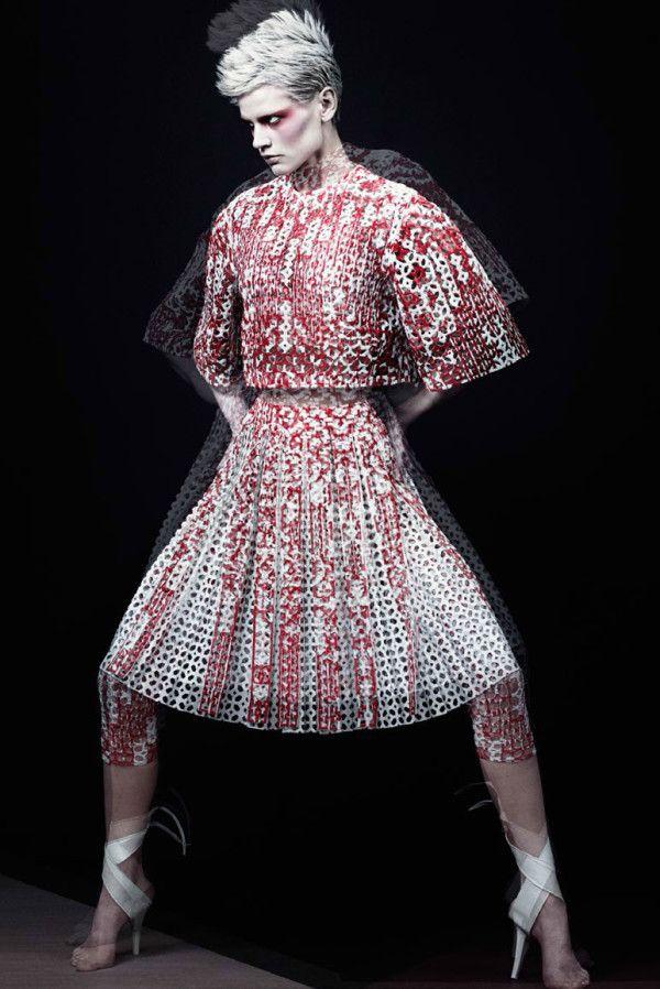 Saskia De Brauw for Vogue Italia February 2014   Trendland