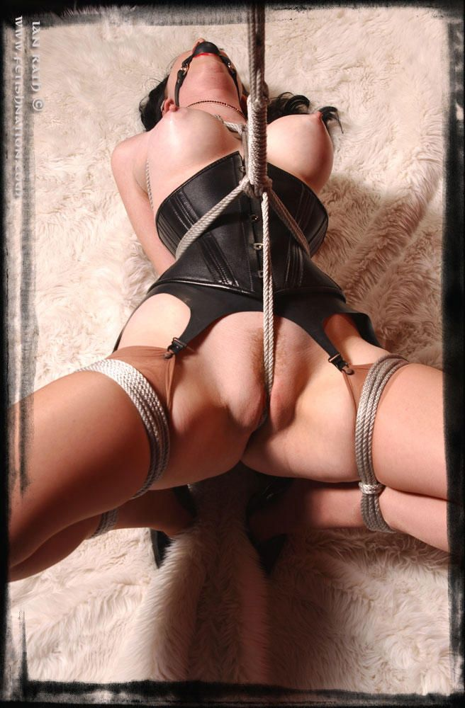 Crotch rope bondage please