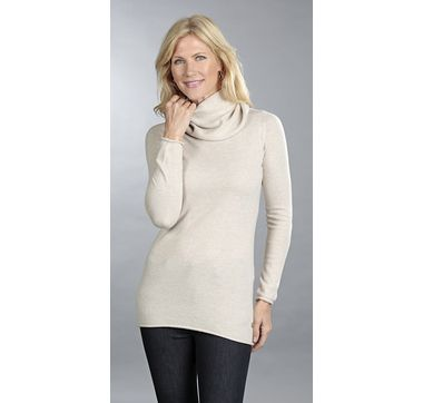 Andrè Maurice 100% Cashmere Turtleneck Tunic