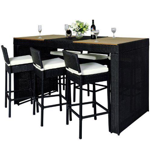 best 25 polyrattan gartenm bel ideas on pinterest. Black Bedroom Furniture Sets. Home Design Ideas