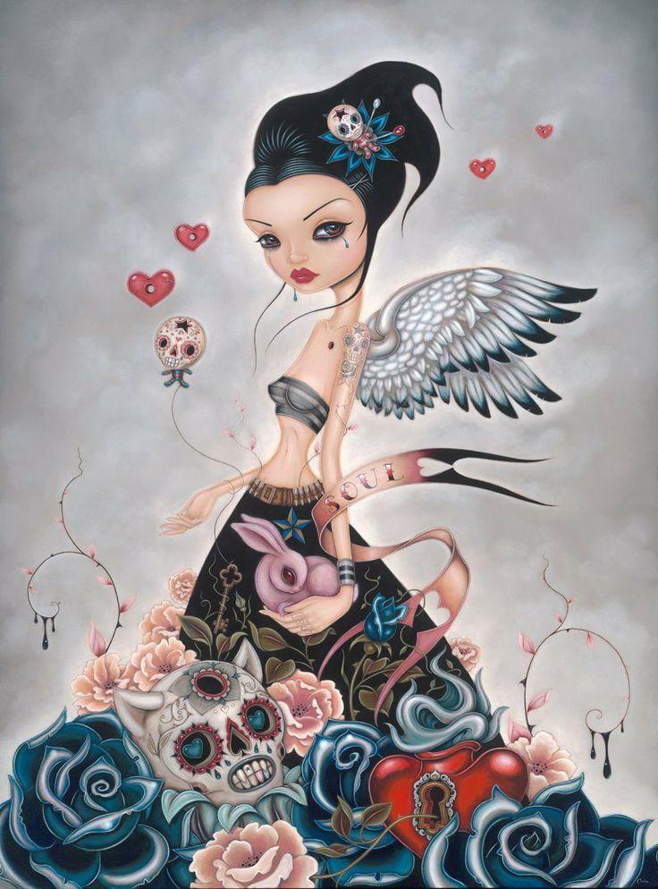 Lost Souls by Caia Koopman #fairy #angel