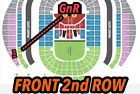 #Ticket   GUNS N ROSES TICKETS SYDNEY  2nd FRONT ROW  UPPER TIERED SEATING  YES!!!! #Australia