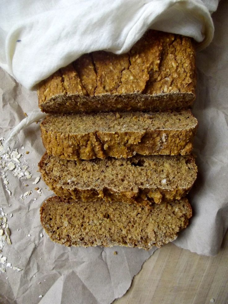 Sweet potato bread, made with millet flour and oat flour. #gluten-free and made with no refined sugar. #vegan