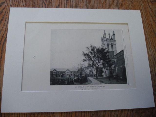 Eden Seminary Group, Webster Grove, MO, 1926, T.P. Barnett Co.