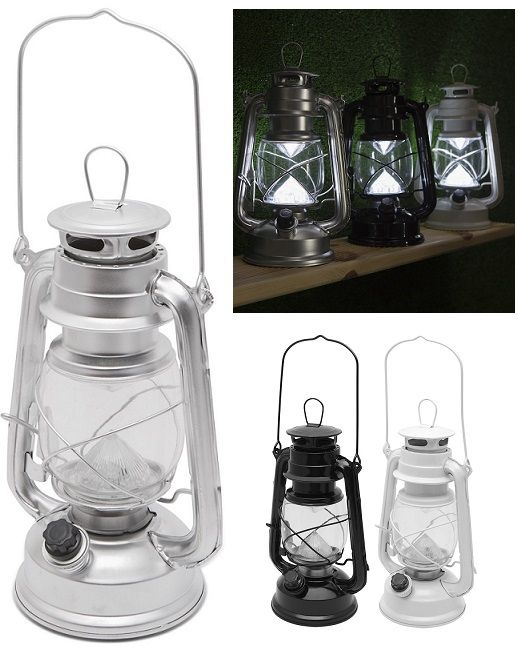 Az eredeti petróleum lámpához élethűen hasonlító, nagyméretű LED lámpa. A 12db LED erős fénye fokozatmentesen szabályozható, így rendkívül sokoldalúan...