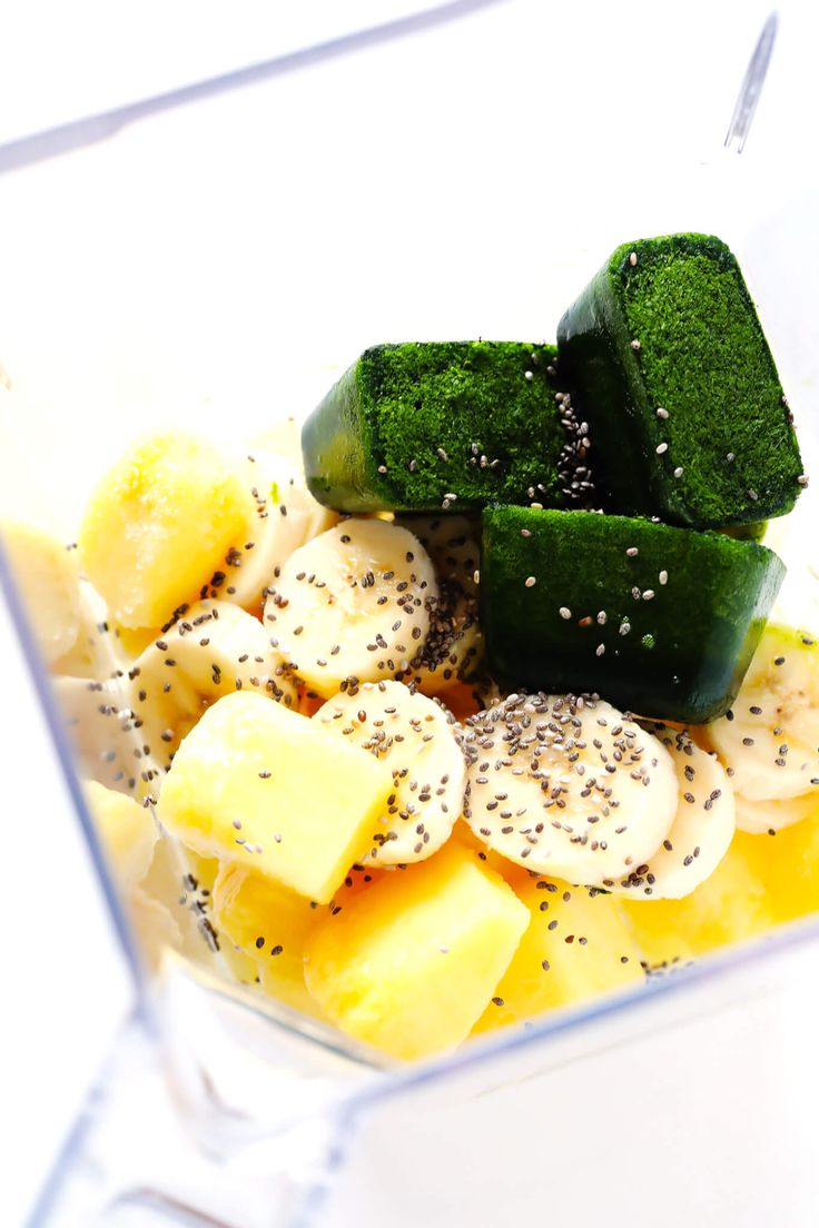 How To Make Frozen Spinach Cubes (for Green Smoothies
