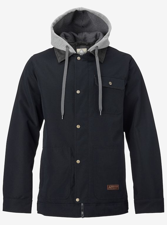 Men's Burton Dunmore Jacket shown in True Black