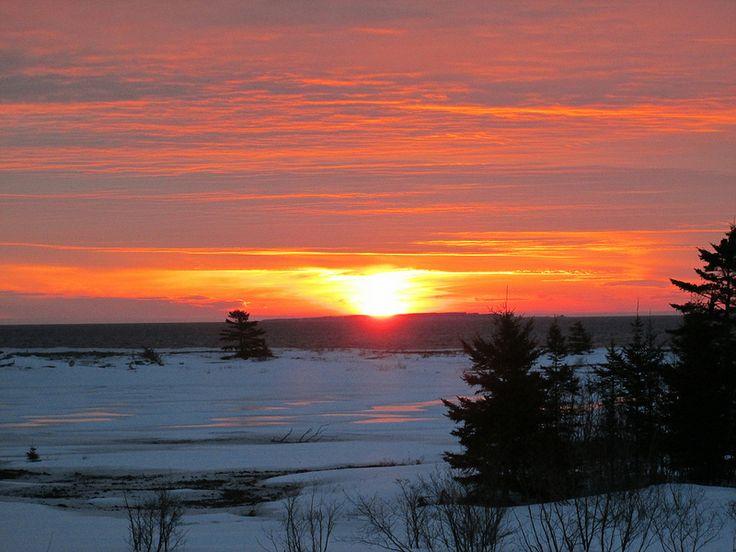 Come enjoy a sunrise every morning! http://www.cabotshores.com/