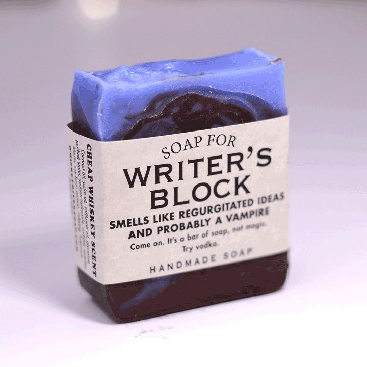 writer's block soap