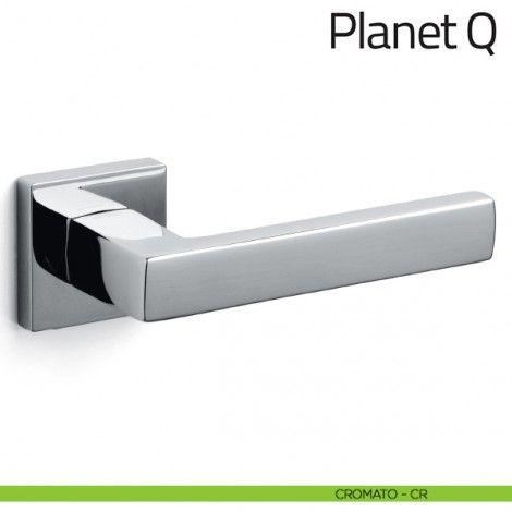 Maniglia per porta Planet Q Olivari cromato