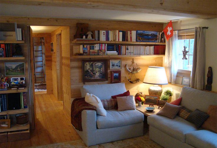 Mountain side | Engadina | St. Moritz | Interior | Home | Project by Studio Ansbacher Manzoni