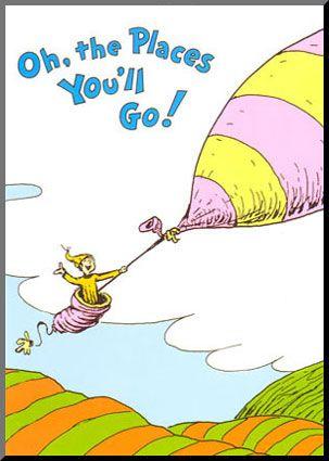 Dr. SeussGraduation Gift, Ideas, High Schools Graduation, Book Worth, Grad Gift, Places, Dr. Seuss, Children Book, Graduation Parties