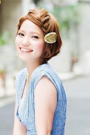 簡単可愛い!+編み込みするだけでキマる☆女子必見☆女の子らしいガーリースタイルの編み込みアレンジの参考一覧です!