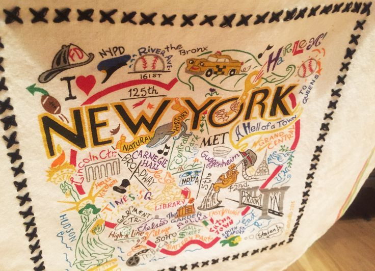 Papel de regalo de la ciudad de New York, en la tienda books. Cherrytomate