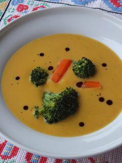 Ízőrző: Édesburgonya-leves brokkolival