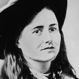"""Belle Starr, (born Myra Belle Shirley in 1848) associated with the infamous Younger family. She rustled cattle and horses in Texas with first husband Jim Reed. Dressing in flamboyant outfits, she declared herself the """"bandit queen."""" In 1880 she became the common-law wife of Sam Starr. Her and Sam's Oklahoma ranch home became a common hideout for outlaws. Belle was shot down near her ranch in 1889."""