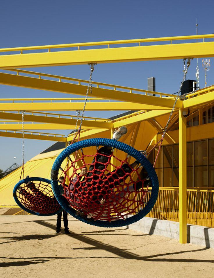 Plaza Ecopolis [Espacio público + Escuela Infantil + Ludoteca],© Emilio Doiztua…