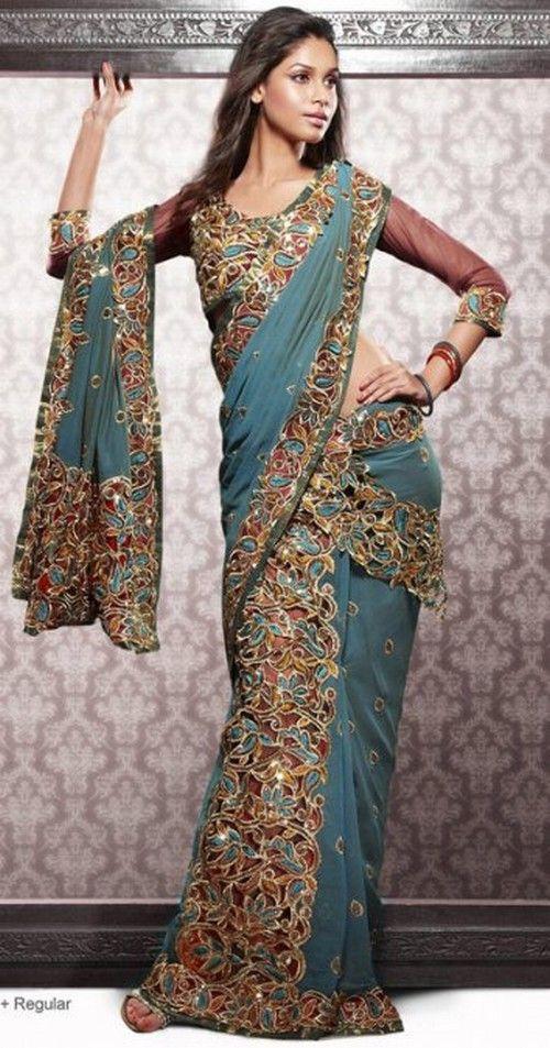 wow! Bollywood Sarees designs