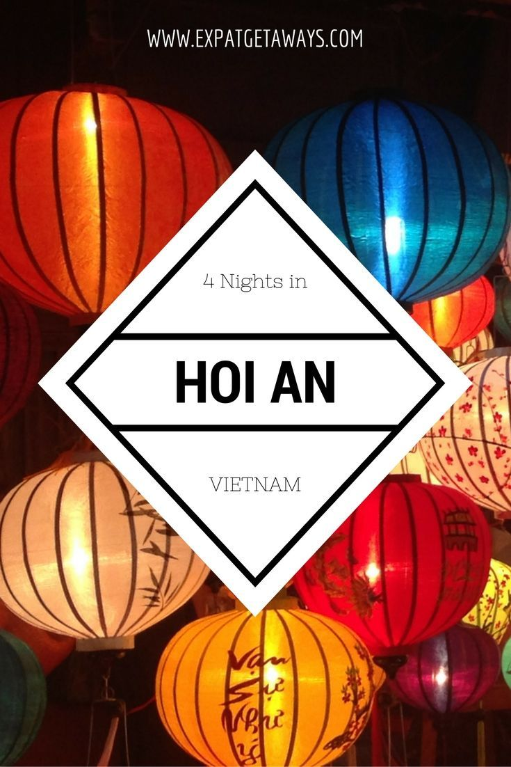 4 Nights in Hoi An. A magical colonial city lost in time. From fabulous tailor made clothes, ancient ruins and of course food glorious food. Vietnam is a great place to travel and an easy Expat Getaway from Hong Kong or Singapore.