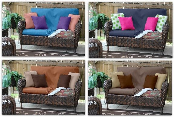 WHAT COLOUR SCHEME ARE YOU IN THE MOOD FOR?  If you're the type of person that likes to change your decor often, then CoverLOUNGIES is for you. This waterproof slipcover is a great product that will allow you to have a variation of colour schemes for your outdoor furniture at a reasonable price.  NOW AVAILABLE ON EBAY.