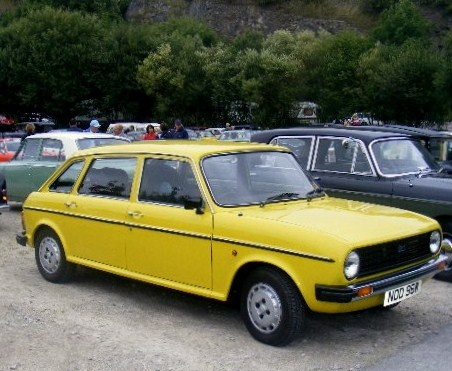 Not my one, but the same as my first car - Austin Maxi in Snapdragon yellow