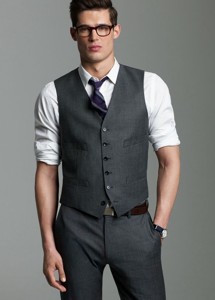 Rolled up sleeves give a nice layed back work look ...